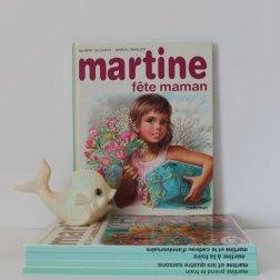 Livre MARTINE fête maman - 80s