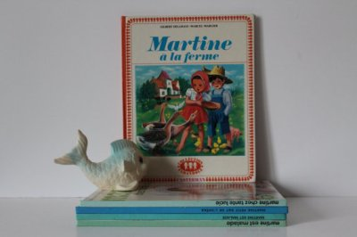 French Vintage Children's Book - Martine à la ferme