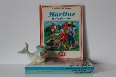 French Vintage Children's Book - Martine à la ferme