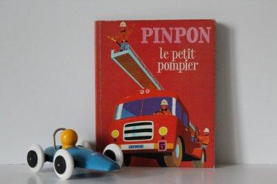 """★Livre pour enfants """"PINPON le petit pompier"""" ALAIN GREE - 70s★12€ + fdp"""