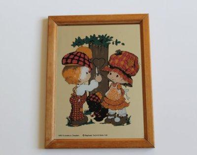 """★Miroir pour enfants """"Bonnie Bonnets"""" Style- 80s★25€ + fdp"""