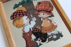 miroir pour enfants vintage