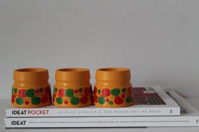 ★lot de 3 coquetiers EMSA-70s★10€ + fdp