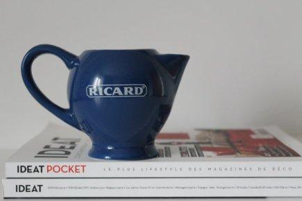 ★Petit Pichet RICARD Bleu-70s★13€ + fdp
