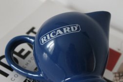 Small Vintage French RICARD Pitcher - Blue - 70s..