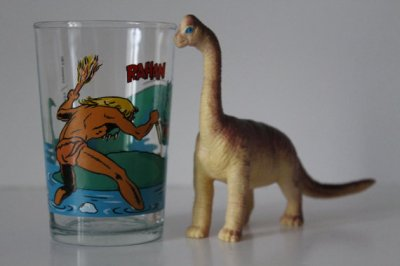 ★Verre Collector RAHAN-80s★10€+fdp