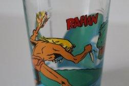 verre Rahan vintage.