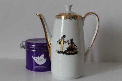 Vintage Porcelain Teapot Coffeepot