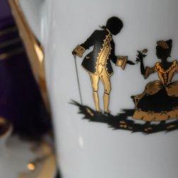 Vintage porcelain teapot.