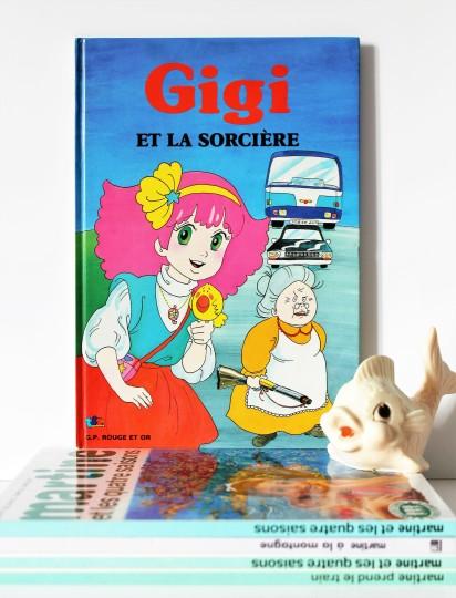 """★Livre pour enfants """"Gigi et la sorcière"""" - 80s★20€ + fdp"""