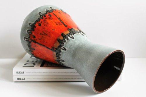 Vintage West Germany Vase -Fat Lava – 206-27 – 70s – Mid Century Modern
