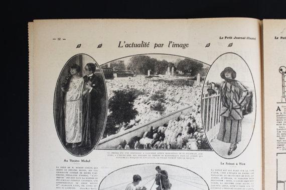 ★COLLECTOR★Le Petit Journal Illustré-4 Février 1923★27.95€ + fdp