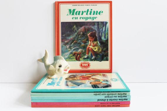 """★COLLECTOR★Livre pour enfants """"Martine en voyage"""" - 80s★13.85€ + fdp"""