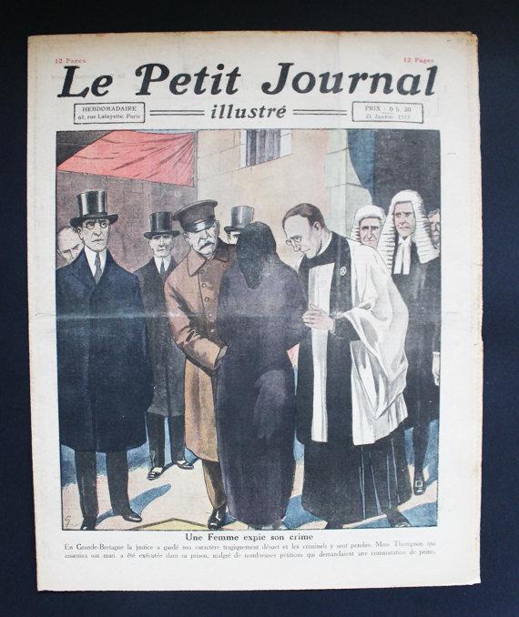 ★COLLECTOR★Le Petit Journal Illustré-21 Janvier 1923★27.95€ + fdp