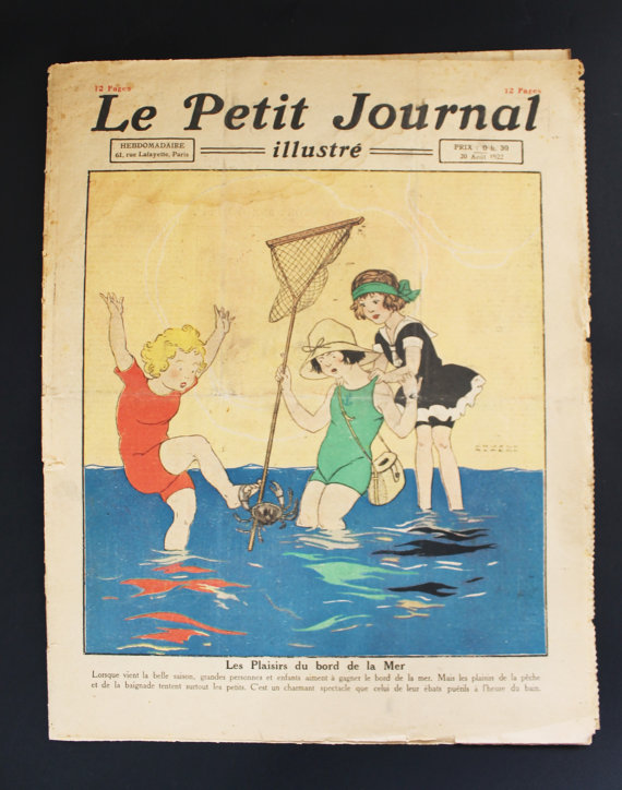 ★COLLECTOR★Le Petit Journal Illustré-20 Août 1922★27.95€ + fdp