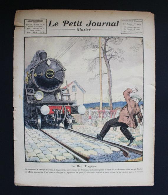 ★COLLECTOR★Le Petit Journal Illustré-7 Janvier 1923★27.95€ + fdp