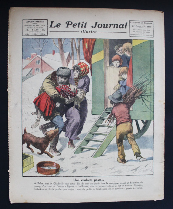 ★COLLECTOR★Le Petit Journal Illustré-28 Janvier 1923★27.95€ + fdp