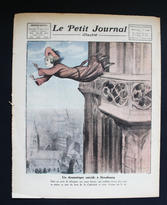 ★COLLECTOR★Le Petit Journal Illustré-30 Avril 1922★27.95€ + fdp
