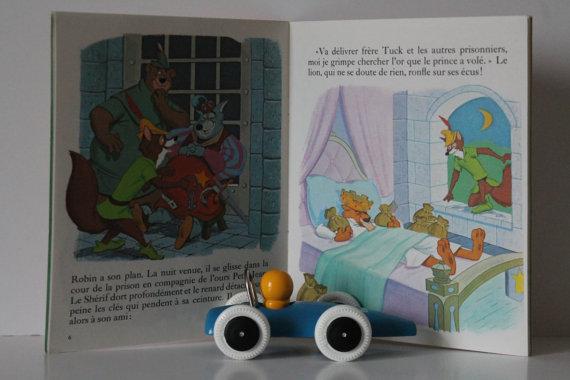 Livre pour enfants «Robin des bois » Walt Disney – 70s★8.45€ + fdp