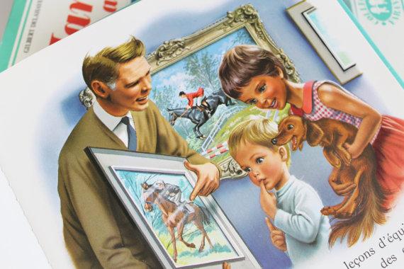 """COLLECTOR★Livre pour enfants """"Martine monte à cheval"""" - 80s★12.5€ + fdp"""