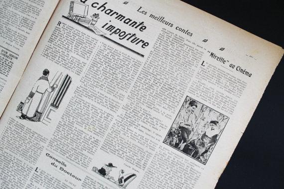 ★COLLECTOR★Le Petit Journal Illustré-9 Avril 1922★27.95€ + fdp